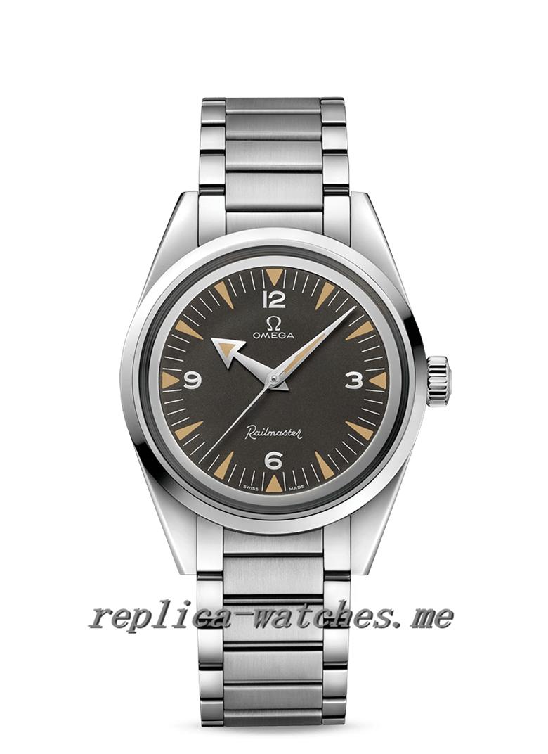 Replica Omega Seamaster Railmaster 220.10.38.20.01.002