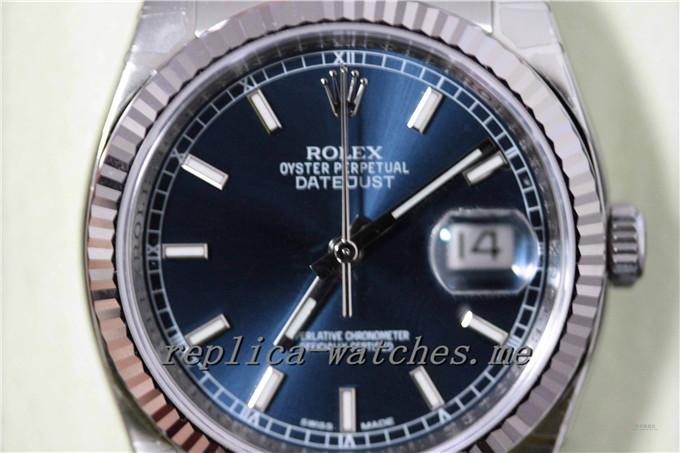 Replica Rolex Datejust 116234-63200 Blue Luo Watch